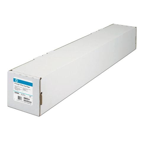 Рулон для плоттера, 914 мм х 45 м х втулка 50,8 мм, 90 г/м<sup>2</sup>, белизна CIE 168%, Bright White InkJet HP C6036A