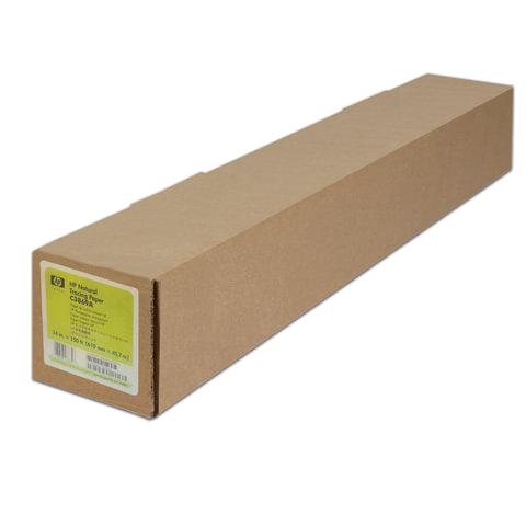 Рулон для плоттера (калька), 610 мм х 45 м х втулка 50,8 мм, 90 г/м<sup>2</sup>, Natural Tracing HP C3869A
