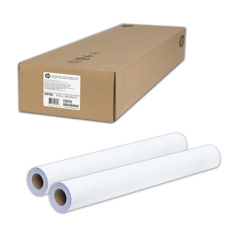 Рулоны для плоттера (пленка самоклеящаяся), 914 мм х 22 м х втулка 50,8 мм, 120 г/м<sup>2</sup>, глянцевые, комплект 2 шт., HP C0F28A