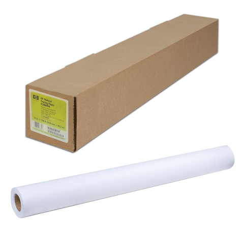 Рулон для плоттера, 841 мм х 45 м х втулка 50,8 мм, 90 г/м<sup>2</sup>, белизна CIE 168%, Bright White Inkjet HP Q1444A
