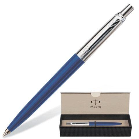 Ручка шариковая PARKER Jotter Special Blue, корпус синий, литой пластик, детали из нержавеющей стали, S0705610, синяя