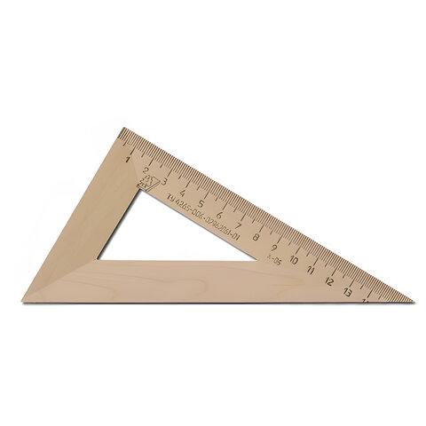 Треугольник деревянный УЧД, угол 30, 16 см, с 139