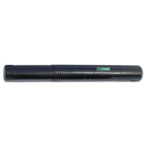 Тубус для чертежей СТАММ телескопический, диаметр 6,5 см, 40-70 см, черный, ПТ31