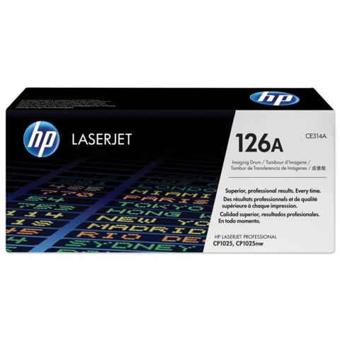 Фотобарабан HP (CE314A) ColorLaserJet Pro CP1025/CP1025NW, оригинальный, 14000 стр. (ч/б), 7000 стр. (цв)