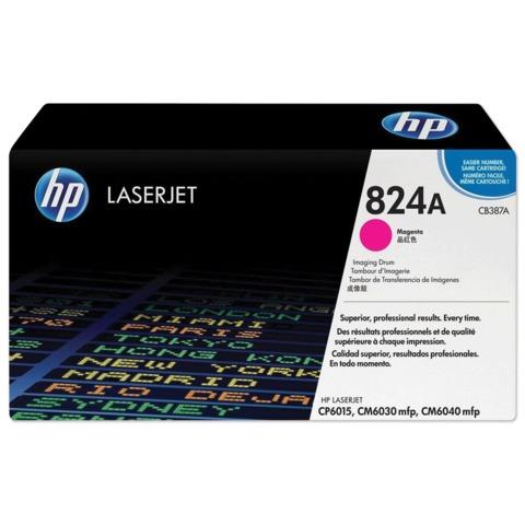Фотобарабан HP (CB387A) ColorLaserJet CP6015/CM6030/CM6040, пурпурный, оригинальный, ресурс 23000 стр.