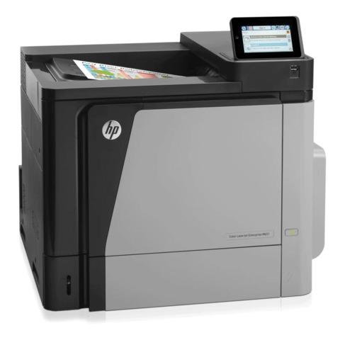 Принтер лазерный ЦВЕТНОЙ HP Color LaserJet Enterprise M651dn, А4, 42 стр./мин, 120000 стр./мес., ДУПЛЕКС, сетевая карта, CZ256A