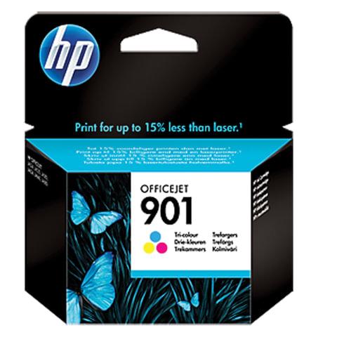 Картридж струйный HP (CC656AE) OfficeJet J4580/J4660/J4680/J4500 №901, цветной, оригинальный
