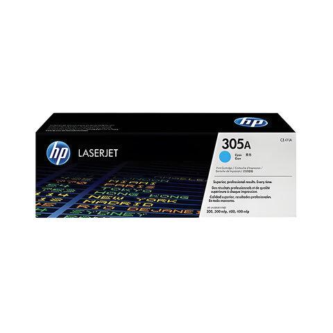 Картридж лазерный HP (CE411A) LaserJet Pro M351/M451, голубой, ориг., ресурс 2600 стр.