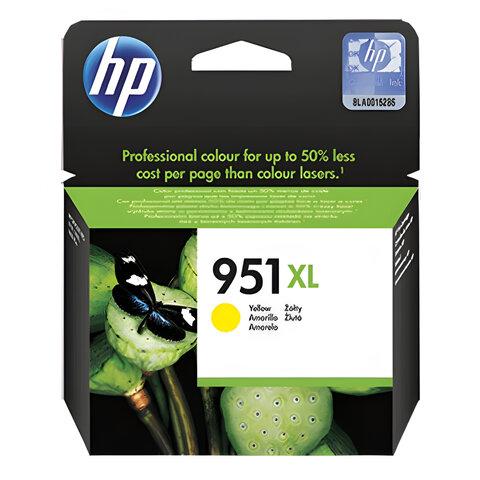 Картридж струйный HP (CN048AE) OfficeJet 8100/8600 №951XL, желтый, оригинальный