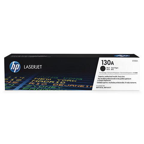 Картридж лазерный HP (CF350A) ColorLaserJet M176n/M177fw, черный, оригинальный, ресурс 1300 стр.