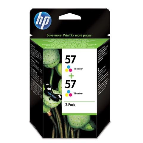Картридж струйный HP (C9503AE) DeskJet 5550/PSC1315/2210 др., комплект, оригинальный, 2 цветных