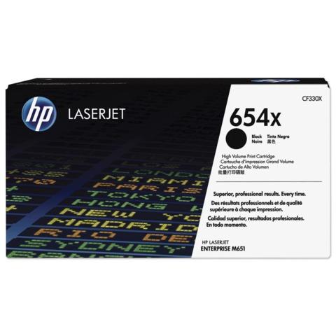 Картридж лазерный HP (CF330X) LaserJet Pro M651n/M651dn/M651xh, черный, оригинальный, ресурс 20500 стр.