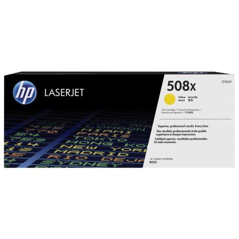 Картридж лазерный HP (CF362X) LaserJet Pro M552dn/M553dn/M553n/M553x, желтый, оригинальный, ресурс 9500 стр.