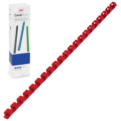 Пружины пластиковые для переплета GBC (Англия), комплект 100 шт., 10 мм, на 46-65 л., 4028215/4401972