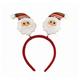 """Ободок карнавальный """"Дед Мороз в полосатом колпаке"""", 22х26 см, полиэстер, 76204"""