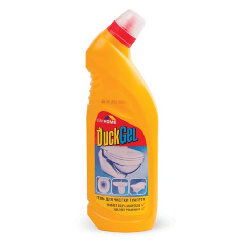 "Средство для уборки туалета 750 мл, DUCK GEL (Дак гель) ""Лимон"", утенок"