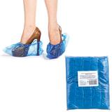 Бахилы, комплект 100 штук (50 пар), чехлы для обуви, размер 39х15 см, ПВД 20 мкм, в евроупаковке, 6019
