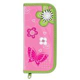 """Пенал BRAUBERG, 1 отделение, ламинированный картон, 19х9 см, """"Розовые цветы"""", 103709"""