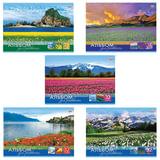 """Альбом для рисования, А4, 32 л., обложка картон, HATBER VK """"Мир в цветах"""", 32А4С, A212561"""