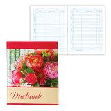 """Дневник для 5-11 классов, твердый, BRAUBERG, блестки, """"Букет роз"""", 104244"""