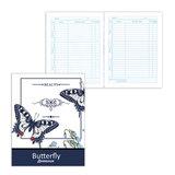 """Дневник для 5-11 классов, твердый, BRAUBERG, ламинированная обложка, """"Прекрасные бабочки"""", 104262"""