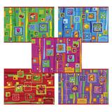 Альбом для рисования, 12 л., HATBER VK, обложка офсет, 100 г/м<sup>2</sup>, &quot;Яркие краски&quot; (5 видов), 12А4С, A212165
