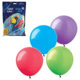 """Шары воздушные 9"""" (23 см), комплект 100 шт., 12 пастельных цветов, в пакете, 1101-0023"""