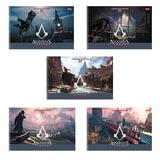 Альбом для рисования, 24 л., HATBER, спираль, обложка мелованный картон, 100 г/м<sup>2</sup>, &quot;Assassin's Creed&quot;, 24А4Всп, A224236