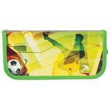 """Пенал 1 отделение BRAUBERG, для учеников начальной школы, ламинированный картон, """"Спорт"""", 19х9 см, 104583"""