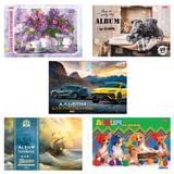 """Альбом для рисования, А4, 40 л., обложка картон, HATBER """"Ассорти"""", 40А4В, A274149"""