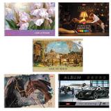 """Альбом для рисования, А4, 48 л., спираль, обложка картон, HATBER """"Ассорти"""", 48А4Всп, A274309"""