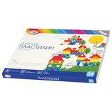 """Пластилин классический ГАММА """"Классический"""", 36 цветов, 720 г, со стеком, картонная упаковка, 281037"""