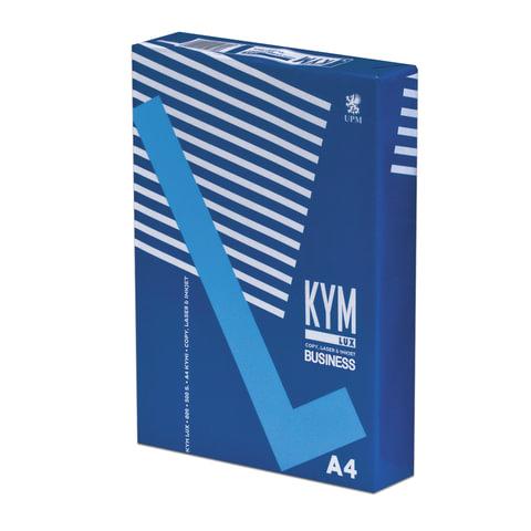 Бумага офисная А4, класс &quot;B+&quot;, KYM LUX BUSINESS, 80 г/м<sup>2</sup>, 500 л., Финляндия, белизна 164% (CIE)