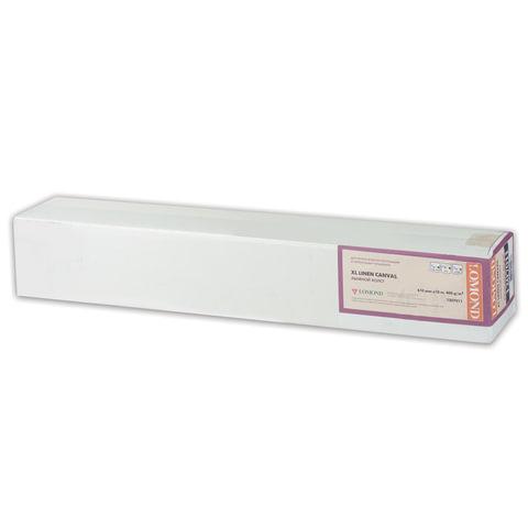 Рулон для плоттера (арт-бумага), 610 мм х 10 м х втулка 50,8 мм, 300 г/м<sup>2</sup>, фактура льняной ткани, LOMOND, 1207011