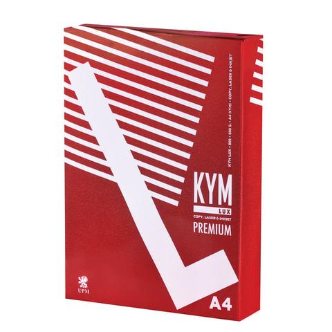 Бумага офисная А4, класс &quot;A+&quot;, KYM LUX PREMIUM, 80 г/м<sup>2</sup>, 500 л., Финляндия, белизна 170% (CIE)