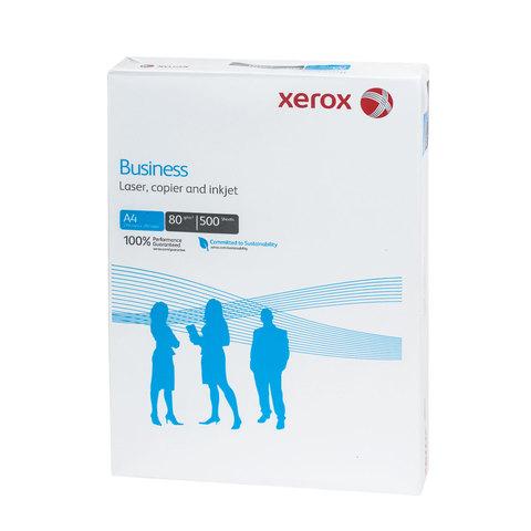 Бумага офисная А4, класс &quot;B&quot;, XEROX BUSINESS, 80 г/м<sup>2</sup>, 500 л., Финляндия, белизна 164% (CIE), 003R91820
