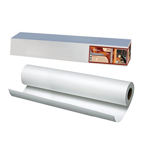 Рулон для плоттера (холст), 610 мм х 15 м х втулка 50,8 мм, 340 г/м<sup>2</sup>, ярко-белый, матовое, хлопковое покрытие, LOMOND,1207071