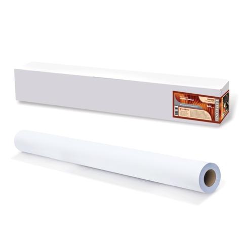 Рулон для плоттера (холст), 914 мм х 15 м х втулка 50,8 мм, 340 г/м<sup>2</sup>, ярко-белый, матовое, хлопковое покрытие, LOMOND,1207072