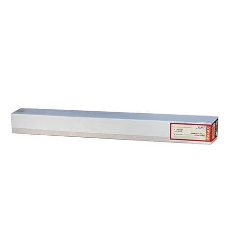 Рулон для плоттера (арт-бумага), 914 мм х 12,3 м х втулка 76 мм, 290 г/м<sup>2</sup>, ярко-белая бархатная фактура, LOMOND, 1211133