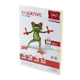 Бумага CREATIVE color (Креатив), А4, 80 г/м<sup>2</sup>, 100 л., пастель желтая, БПpr-100ж