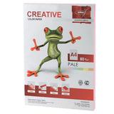 Бумага CREATIVE color (Креатив), А4, 80 г/м<sup>2</sup>, 100 л., пастель розовая, БПpr-100р
