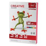 Бумага цветная CREATIVE color, А4, 80 г/м<sup>2</sup>, 100 л., интенсив, розовая, БИpr-100р