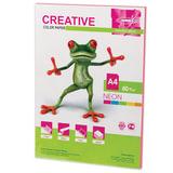 Бумага CREATIVE color (Креатив), А4, 80 г/м<sup>2</sup>, 50 л., неон розовая, БНpr-50р