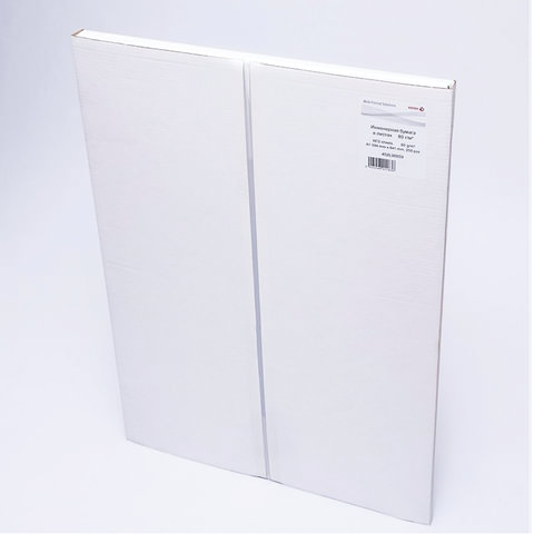 Бумага широкоформатная XEROX XES, А1, инженерная, 594х841 мм, 250 л., 80 г/м<sup>2</sup>, белизна CIE 168%, 453L90859