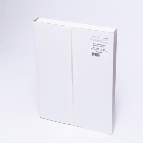 Бумага широкоформатная XEROX XES, А2, инженерная, 420х594 мм, 500 л., 80 г/м<sup>2</sup>, белизна CIE 168%, 453L90868