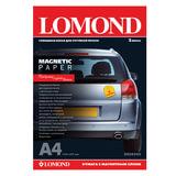 Бумага с магнитным слоем LOMOND глянцевая для струйной печати, А4, 2 л., 660 г/м<sup>2</sup>, 2020345