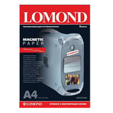 Бумага с магнитным слоем LOMOND матовая для струйной печати, A4, 2 л., 620 г/м<sup>2</sup>, 2020346