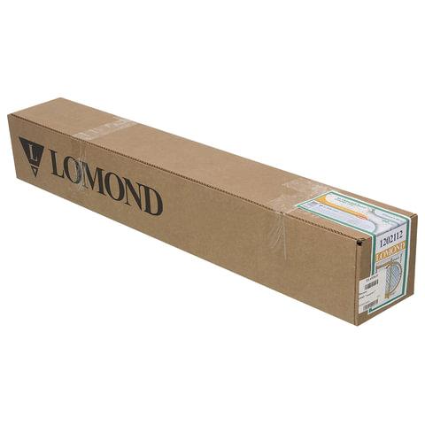 Рулон для плоттера, 914 мм х 45 м х втулка 50,8 мм, 90 г/м<sup>2</sup>, матовое покрытие для САПР и ГИС, LOMOND, 1202112