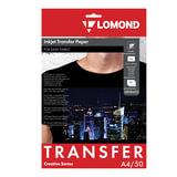 Бумага термотрансферная LOMOND для тёмных тканей, А4, 50 шт., 140 г/м<sup>2</sup>, 0808425