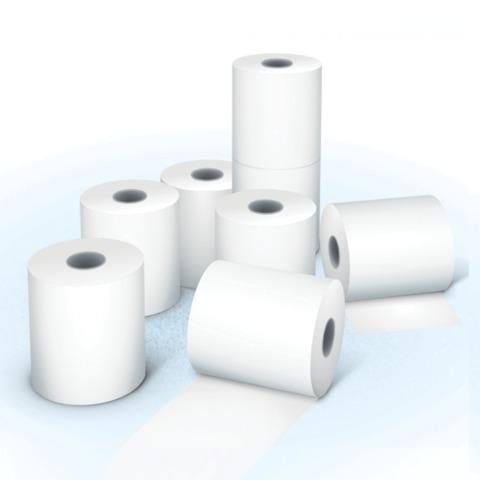 Рулоны для кассовых аппаратов, термобумага, 44х30х12 (30 м), комплект 14 шт., гарантия намотки, ОФИСМАГ, 110545